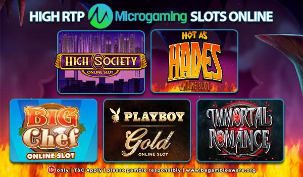Macam-Macam Permainan Judi Slot Microgaming Terpopuler
