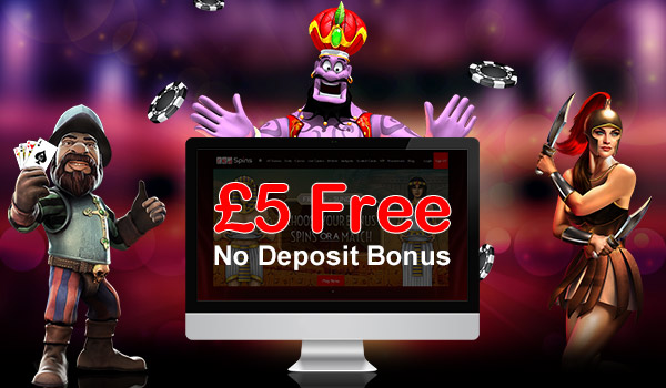 Free joining bonus no deposit